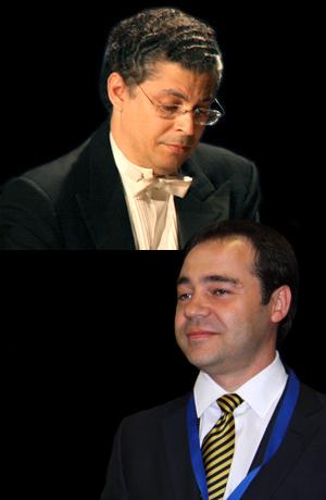 Leonel Morales y Juan Lago